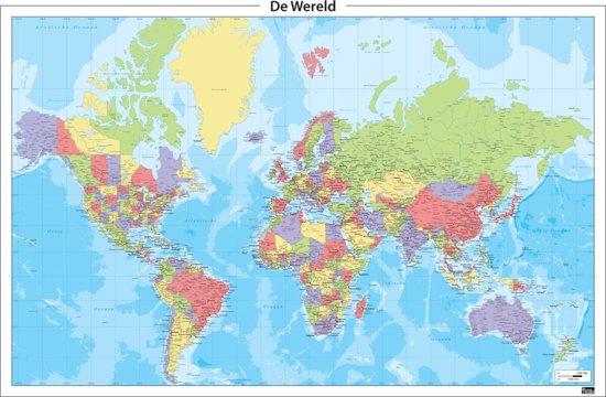 Bol Com Staatkundige Wereldkaart