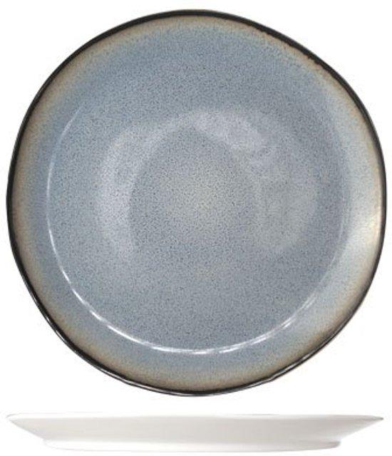 Cosy & Trendy Fez Blue Plat Dinerbord - Ø 28 cm - Set-4