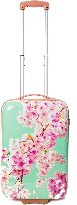 CarryOn Bloesem - Handbagage koffer 55cm - TSA-slot - Gevoerde binnenkant