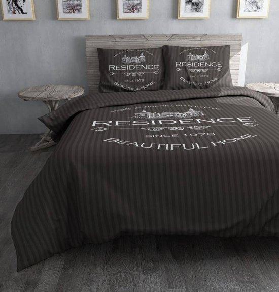 Dreamhouse Bedding Residence Dekbedovertrekset - Eenpersoons - 140 x 220 cm - Grijs