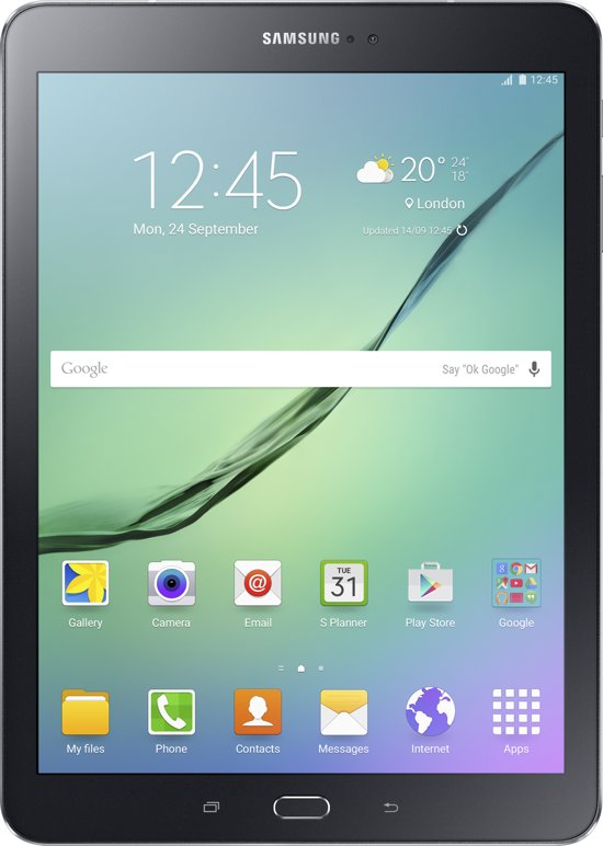 Samsung Galaxy Tab S2 9,7 inch 32GB Wifi + 4G Zwart 2016