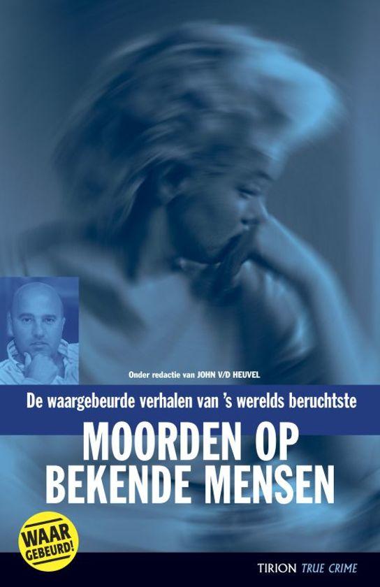 Cover van het boek 'Moorden op bekende mensen'