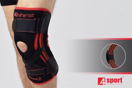 Reh4Sport Anatomisch gevormde kniebrace met beschermings niveau 3 maat L