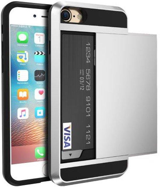 cd5d5f4d35f bol.com   iPhone 5 5s SE hybrid case hoesje met ruimte voor 2 pasjes ...