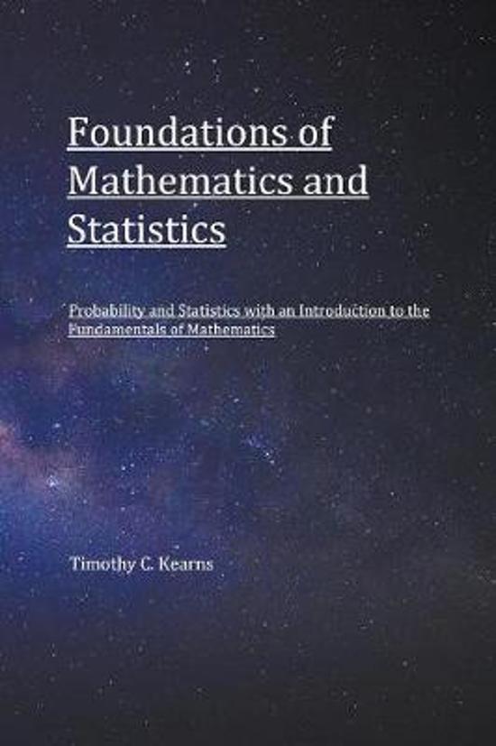 Foundations of Mathematics and Statistics