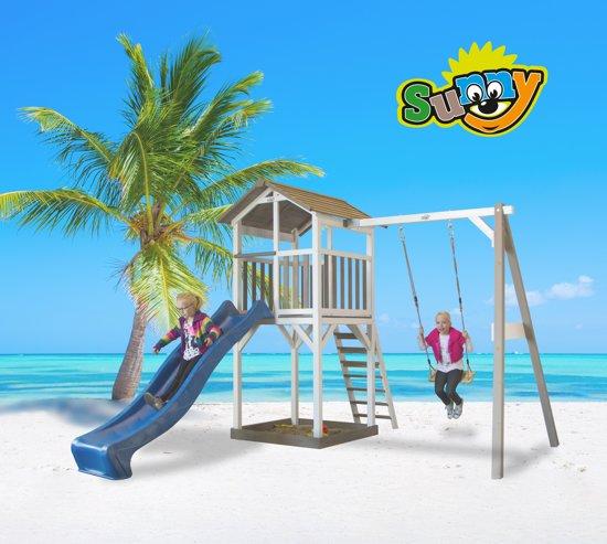Sunny Beach Tower Speeltoestel met Schommel