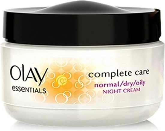 MULTI BUNDEL 2 stuks Olay Essentials Moisturizing Night Cream Normal And Dry Skin 50ml