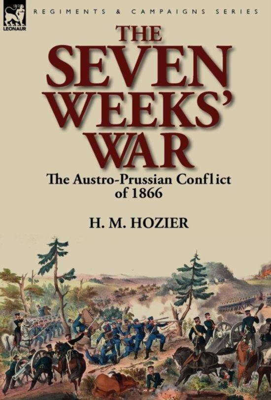 Boek cover The Seven Weeks War van H. M. Hozier (Hardcover)