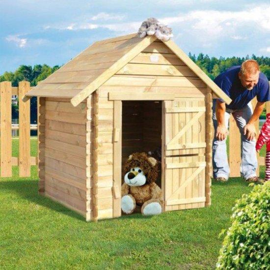 Verbazingwekkend bol.com | Prestige Garden Lois houten blokhut - Speelhuis, JoyPet QQ-55