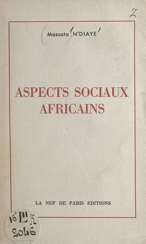 Aspects sociaux africains