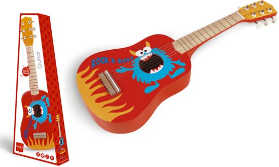 Scratch Rock & Roll Monster Gitaar
