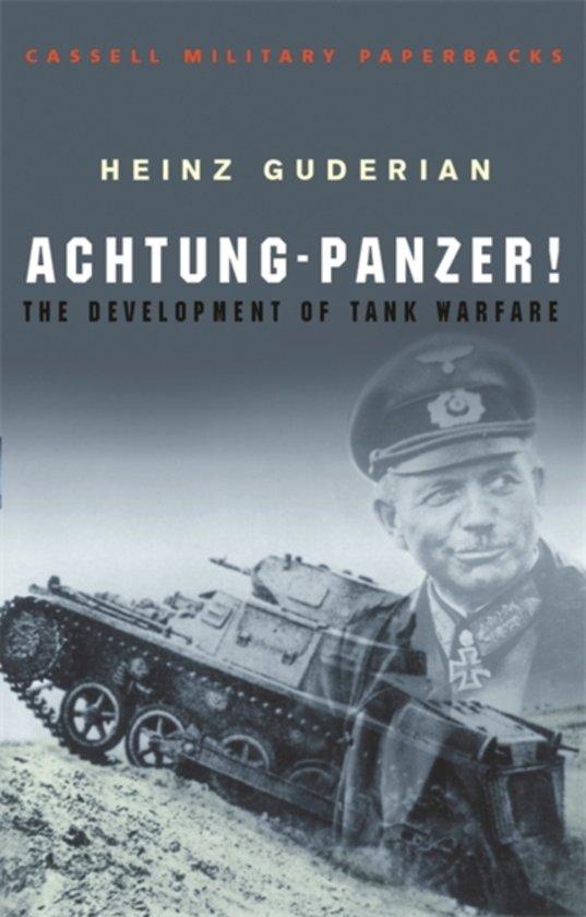 Boek cover Achtung Panzer! van Heinz Guderian (Paperback)