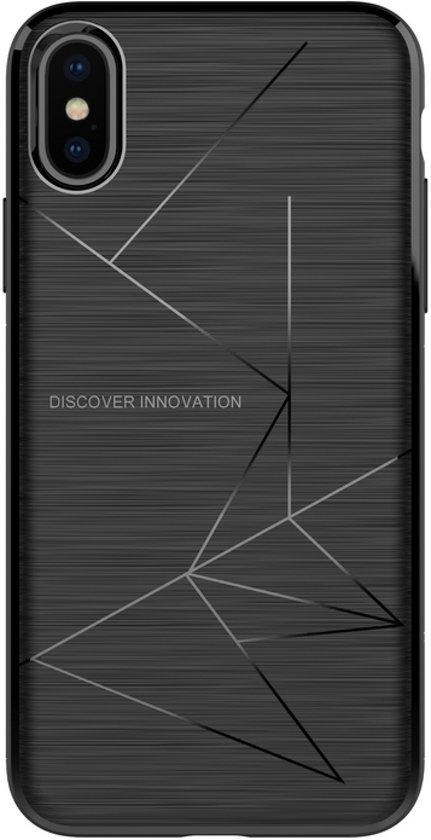 Nillkin Magic Case (Magnetisch) - Apple iPhone X/Xs (5.8'') - Zwart (LET OP: alleen te gebruiken icm magnetische houders van Nillkin)