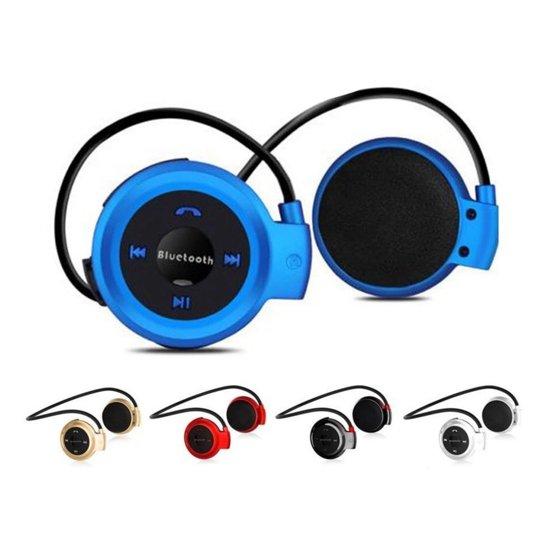 online te koop hele collectie lagere prijs met Draadloze Sport Oordopjes - Bluetooth Oortjes voor Hardlopen - On-ear  Koptelefoon Blauw