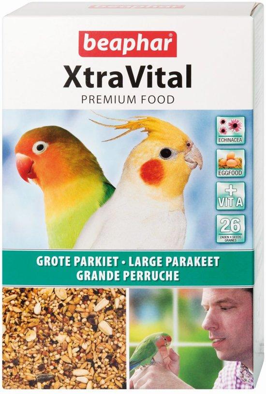Beaphar - Xtravital Grote Parkiet Vogelvoer - 1 kg