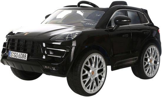 Bol Com Rollplay Porsche Macan 12 Volt Kinderauto Zwart