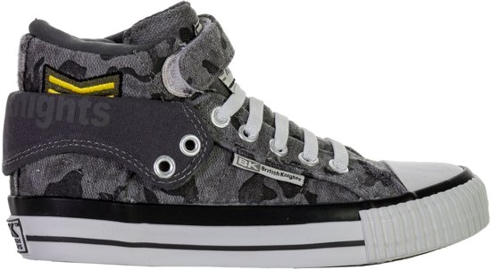 42ba6424a41 British Knights Roco Schoenen Junior Sneakers - Maat 34 - Unisex - grijs