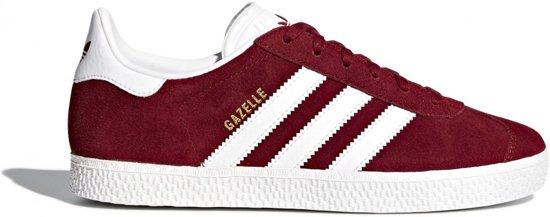 Adidas Meisjes Sneakers Gazelle J - Rood - Maat 36⅔