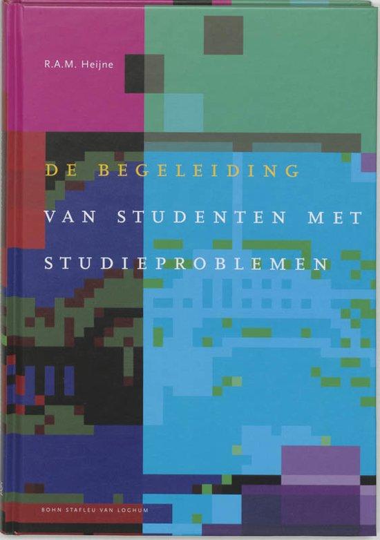 Docentenreeks De begeleiding van studenten met studieproblemen