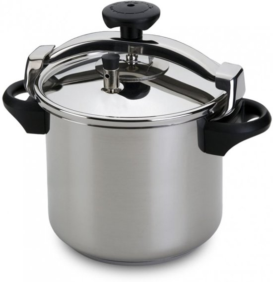 Silampos traditional snelkookpan, 10l