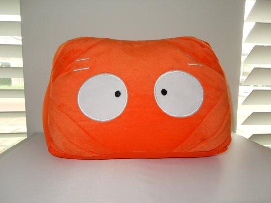 i-tabby - tablethouder & reiskussen in 1 - orange