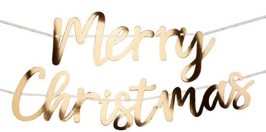 Neviti Dazzling Christmas 'Merry Christmas' slinger - goud - 2 meter