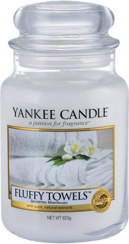 Yankee Candle Fluffy Towels - Geurkaars