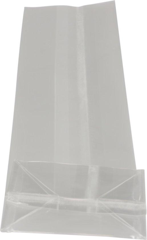 Zak, Blokbodemzak, PP, 8/5x25cm, 40my, transparant
