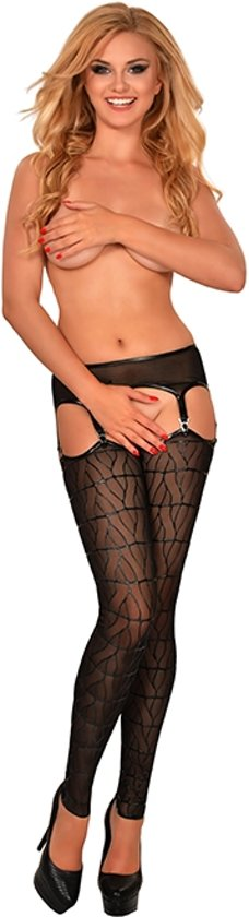GP PRINTED FOOTLESS THIGH HIGHS, S