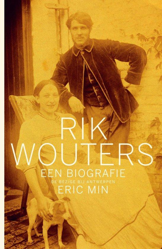 Cover van het boek 'Biografie Rik Wouters'