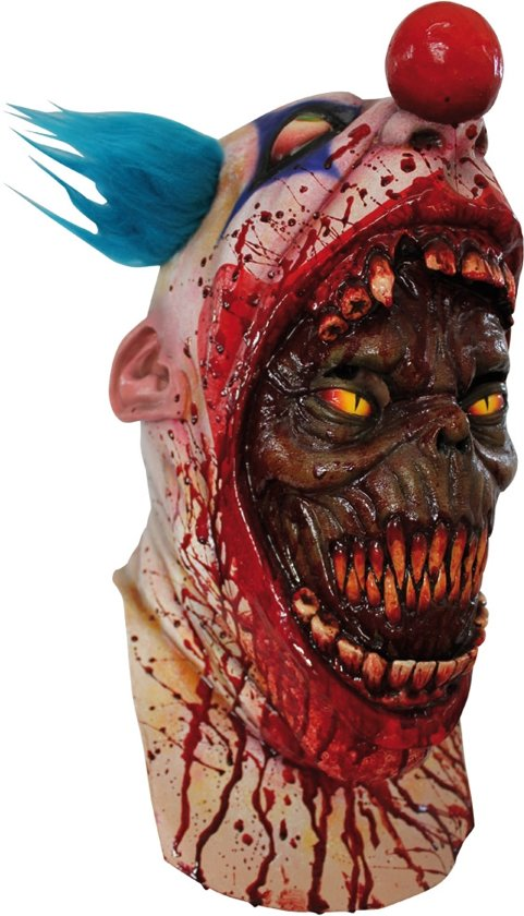 """""""Bloedend clownsmasker - Verkleedmasker - One size"""""""