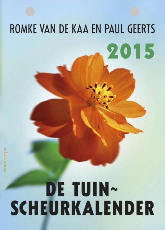 De tuinscheurkalender 2015