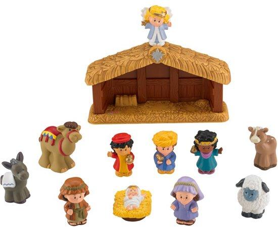 Fisher-Price Little People Nativity Kerststal - Speelfigurenset