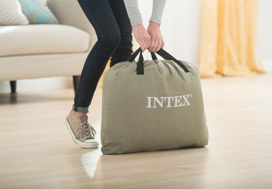 Intex Raised Downy Airbed Queen Grey