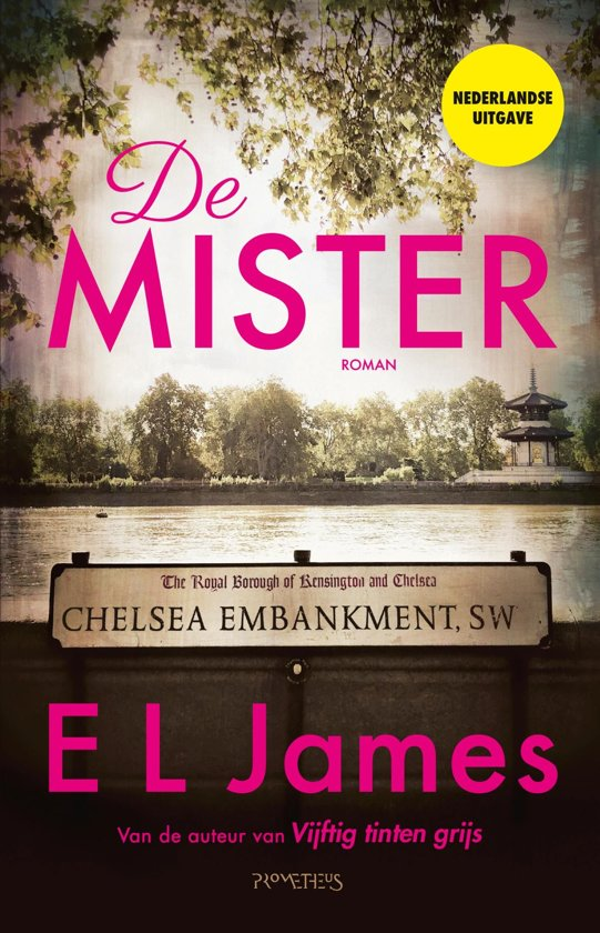 Boek cover De Mister van E L James (Onbekend)