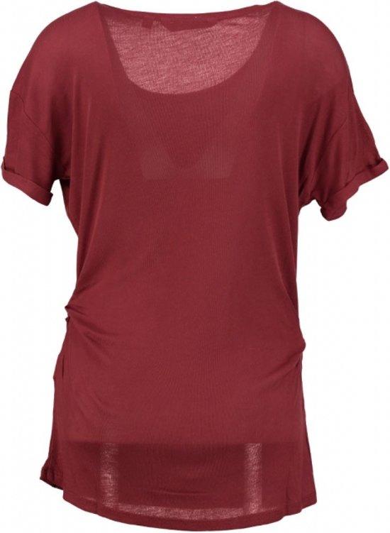 Garcia lang zacht aangerimpeld shirt Maat - L