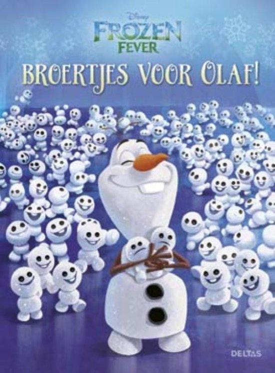 Boek cover Disney Frozen Fever - Broertjes voor Olaf! van Schrijver (Hardcover)