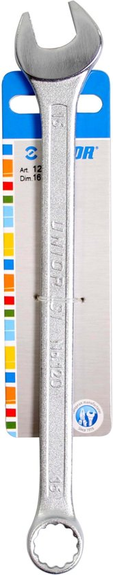 Unior steek/ringsleutel 16mm