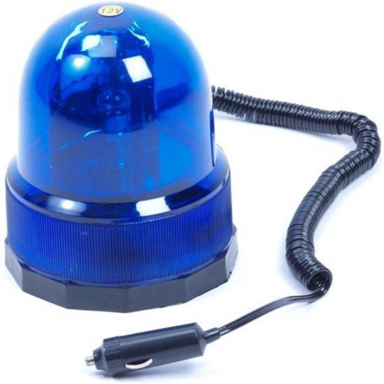 ES Politie Zwaailicht / Zwaailamp 12V Blauw