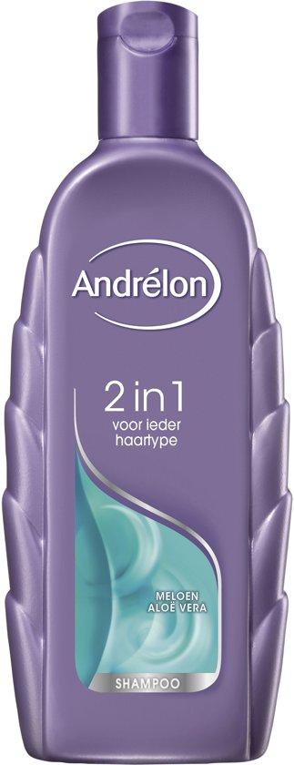 Andrélon 2 In 1  Shampoo 6 x 300 ml - Voordeelverpakking