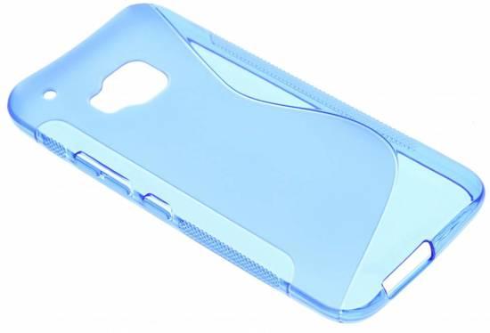 Bleu Ultra Mince Cas De Tpu Transparent Pour Htc Une M9 C1LjKnu7An