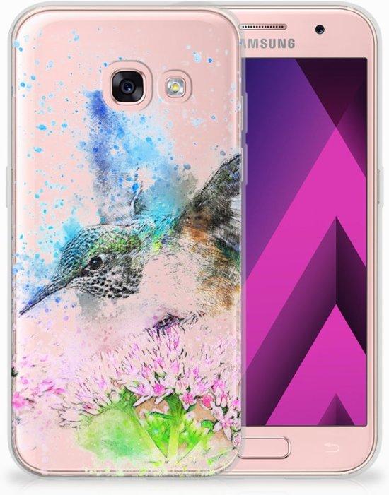 Samsung Galaxy A3 2017 TPU Hoesje Design Vogel