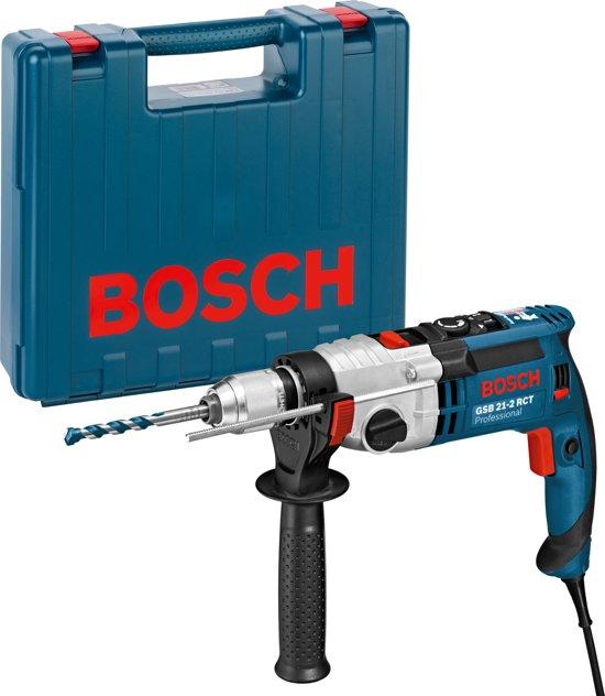 bosch professional gsb 21 2 rct klopboormachine 1300 watt met opbergkoffer. Black Bedroom Furniture Sets. Home Design Ideas