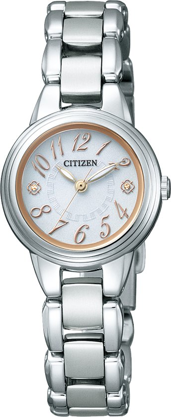 Citizen EX2030-59A - Horloge - Titanium - Zilverkleurig - Ø 23 mm