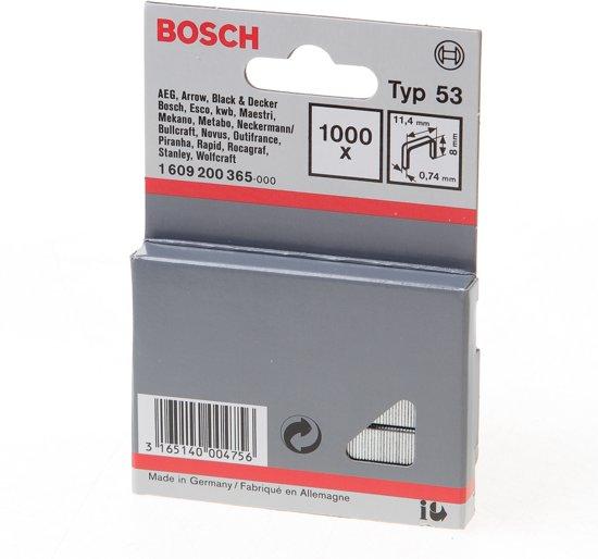 Bosch - Niet met fijne draad type 53 - 11,4 x 0,74 x 8 mm