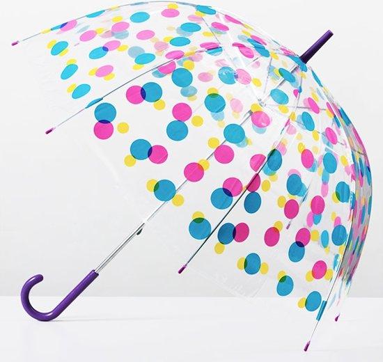 Veelkleurige Bubble paraplu