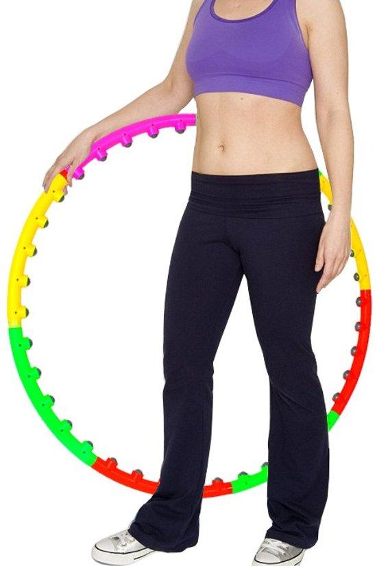 bol com fitness massage magneet hoelahoep sport hula hoop gymfitness massage magneet hoelahoep sport hula hoop gym ab workout weight hoola hoepel