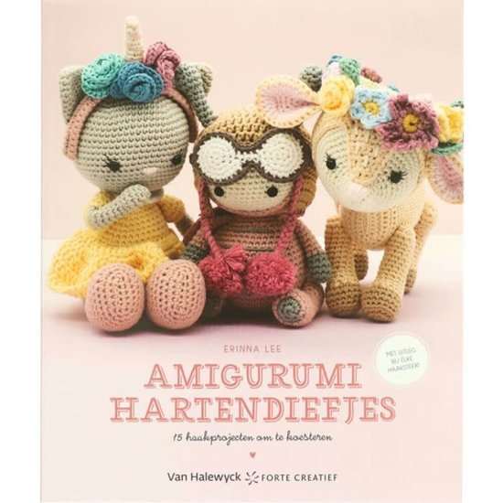 Boek cover Amigurumi Hartendiefjes van Erinna Lee (Paperback)