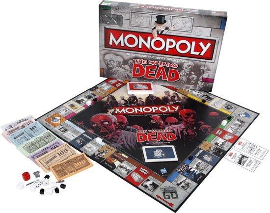 Monopoly Walking Dead - Bordspel - Engelstalig