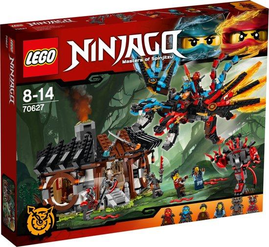 bol | lego ninjago drakensmederij - 70627, lego | speelgoed